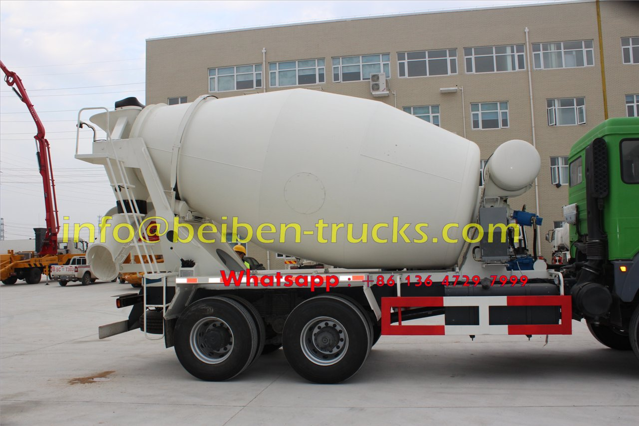North Benz NG80 6x4 concrete mixer truck cement truck