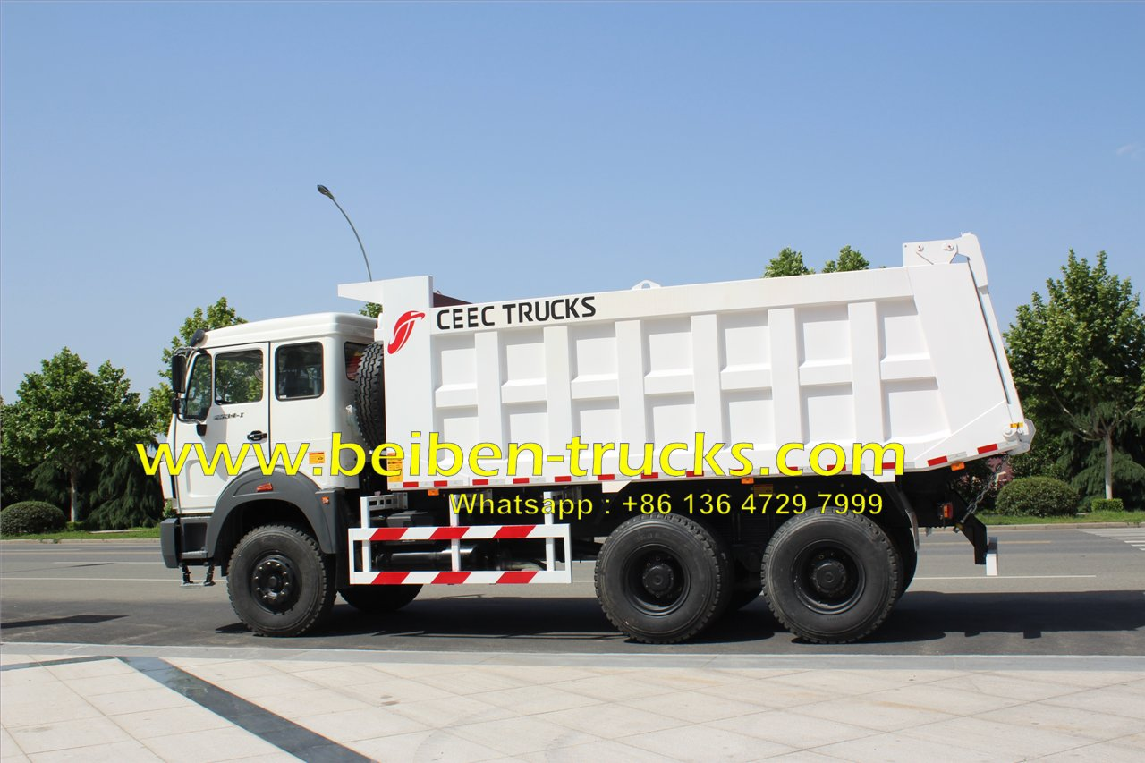 africa best beiben 50 Ton dump truck supplier