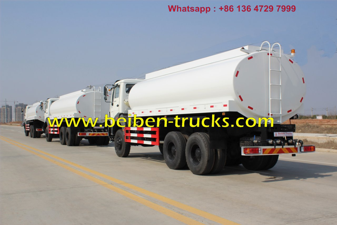RHD beiben 2538 water tanker for kenya