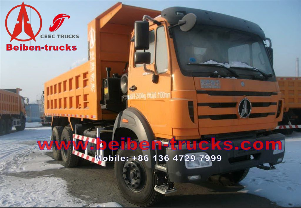 kenya beiben 2538 right hand drive dump trucks price