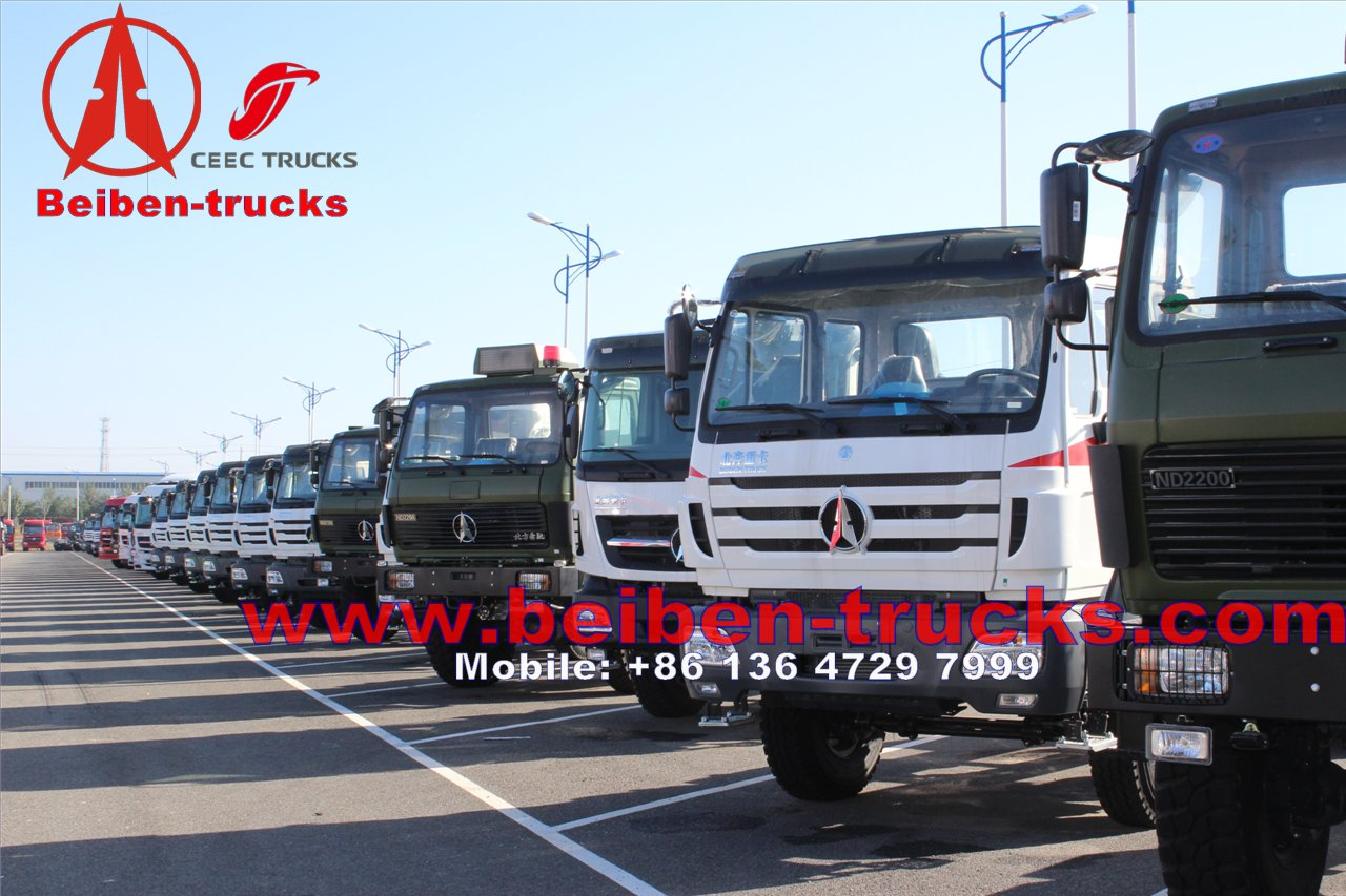 used Beiben / North Benz/ Mercedes Benz Technology Tractor Truck EuroIII/EuroII Tractor Head/ Tractor Truck