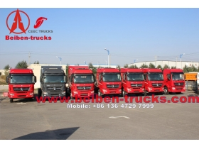 congo customer New model North Benz BEIBEN Tractor Truck LHD/RHD with 336hp, 375hp