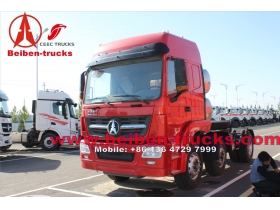 China Heavy Truck 380hp 6x4 Beiben Tractor Truck  for tanzania customer