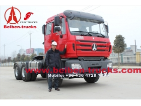 china High quality BEIBEN NG80 6x4 WEICHAI engine 340hp tractor truck