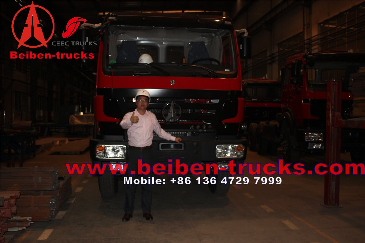 Beiben Truck 6X4 Tractor Head LHD Drive 420hp 2542SZ  supplier from china