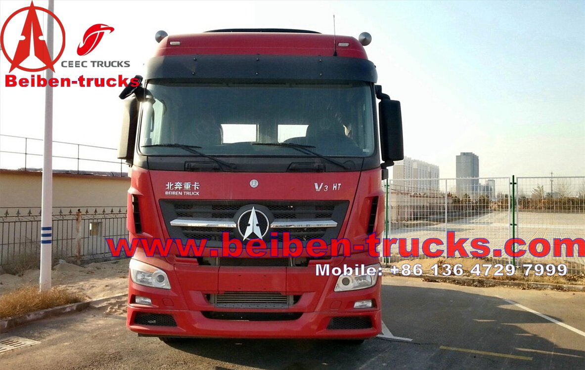 Brand New North Benz 6*4 BEIBEN V3 tractor truck  price
