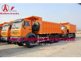 Mercedes Benz Technology Beiben 8*4 Heavy Duty dump truck manufacturer