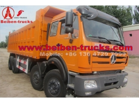 best quality China Heavy Duty Truck North Benz Beiben Dump Truck  price