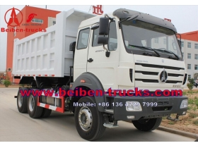 china New North Benz BeiBen NG80 6x6 off road tipper dump truck For Sale