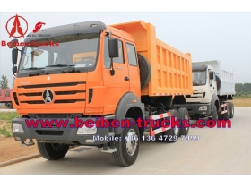 china North Beiben 6x4 china made dump truck 25 ton dump truck  price