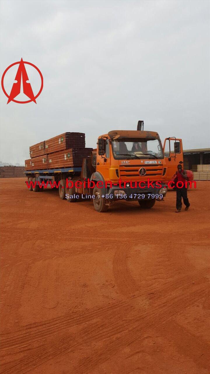 الصين مصنعين الساخنة بيع شاحنة جرار بيبين 2548 الكونغوشاحنة جرار