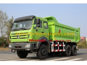 Hot Sale Brand New China Dump Truck With Cheapest Price 6*4 380hp Beiben Dump Truck  supplier