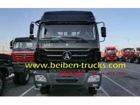 china beiben 2534 tractor truck supplier for congo