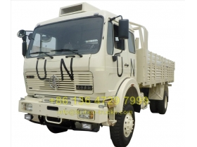 china beiben 4 wheel drive military truck supplier