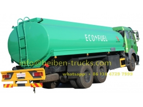 beiben 20 CBM fuel truck supplier