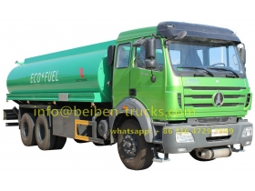 Beiben 20,000 L fuel carrier truck supplier