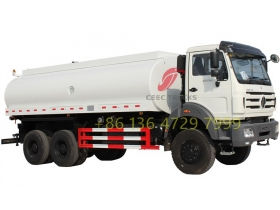 Right hand drive beiben 2538 water truck for kenya customer