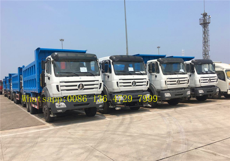 Congo- 16 units beiben 2638 dump trucks are exported