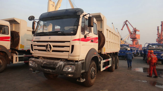 CONGO customer order 26 units Beiben NG80B 340 hp dump truck